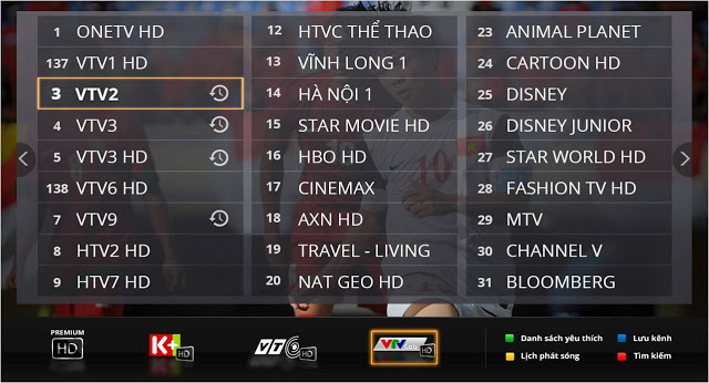 Cac Kenh Truyen Hinh FPT Play HD - FPT Quan 12