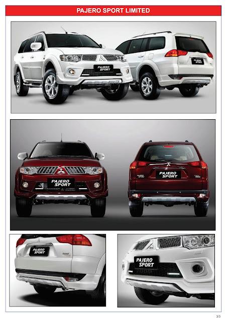 Pajero Sport Limited 2013