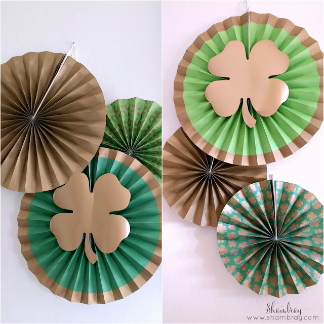 Fun Ideas for St. Patrick's Day Decorative Fans