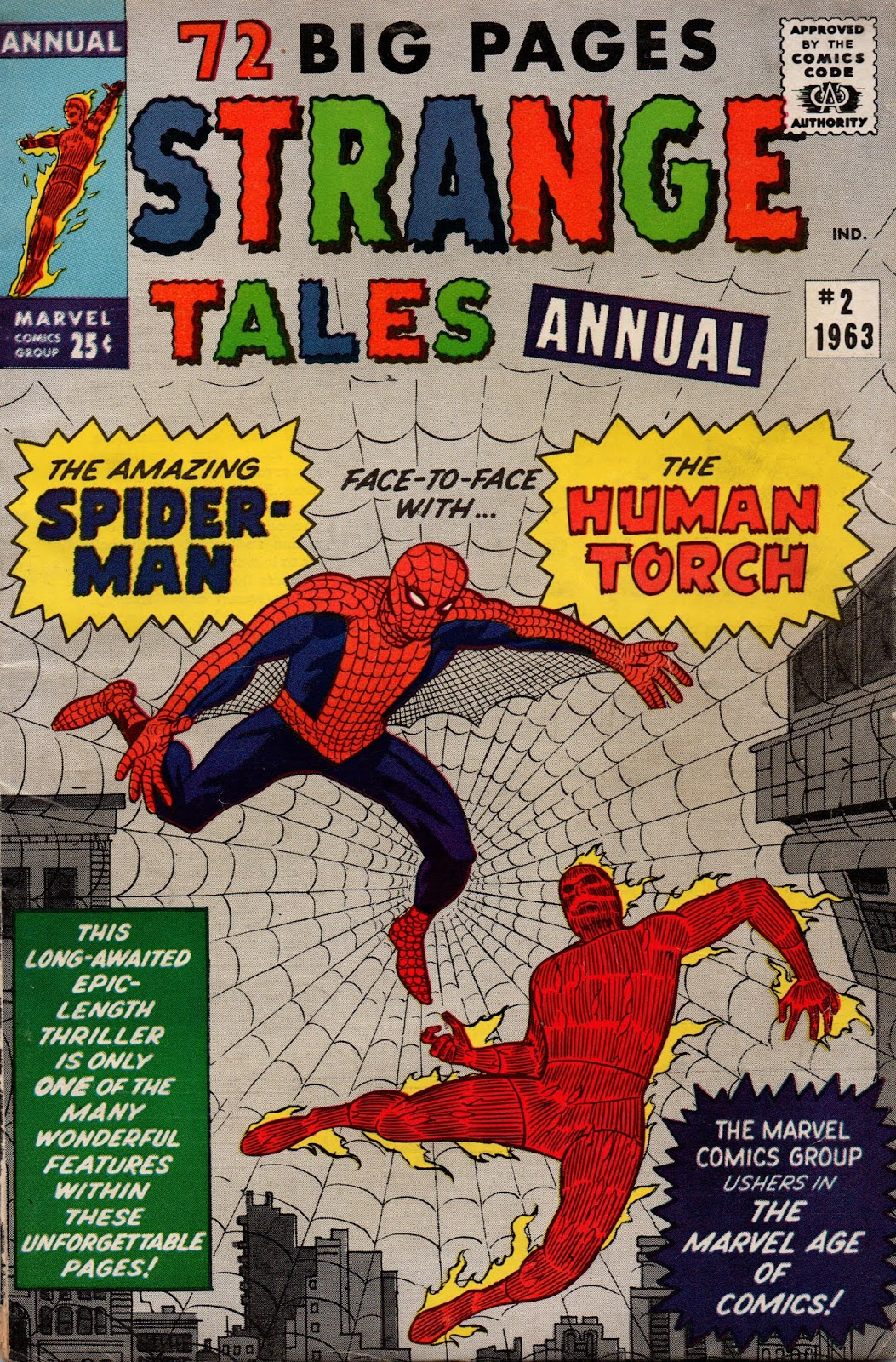 Marvel Mysteries and Comics Minutiae: 55 Summers Ago: Fantastic Four ...