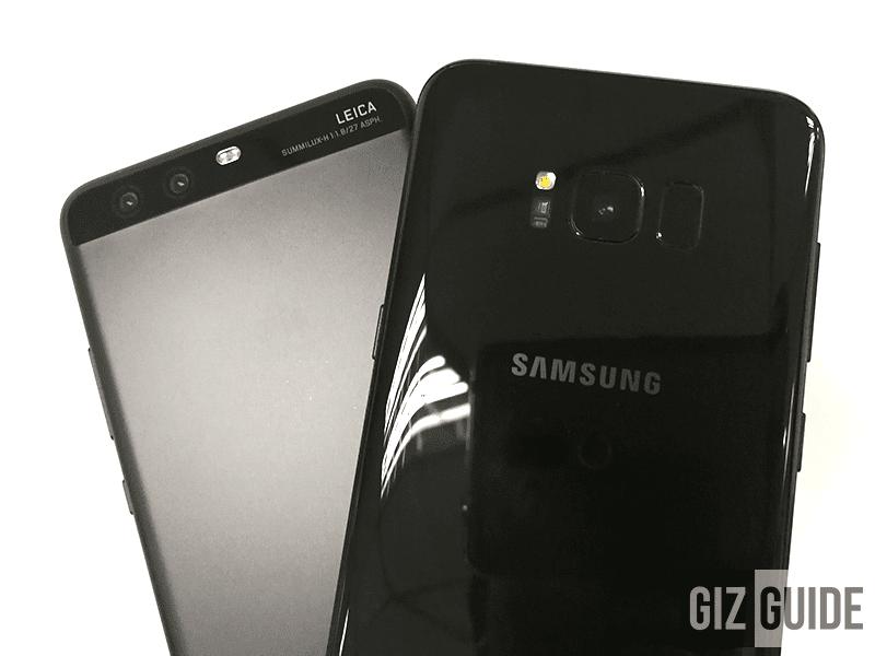 Huawei P10 Plus Vs Samsung Galaxy S8+ Cameras