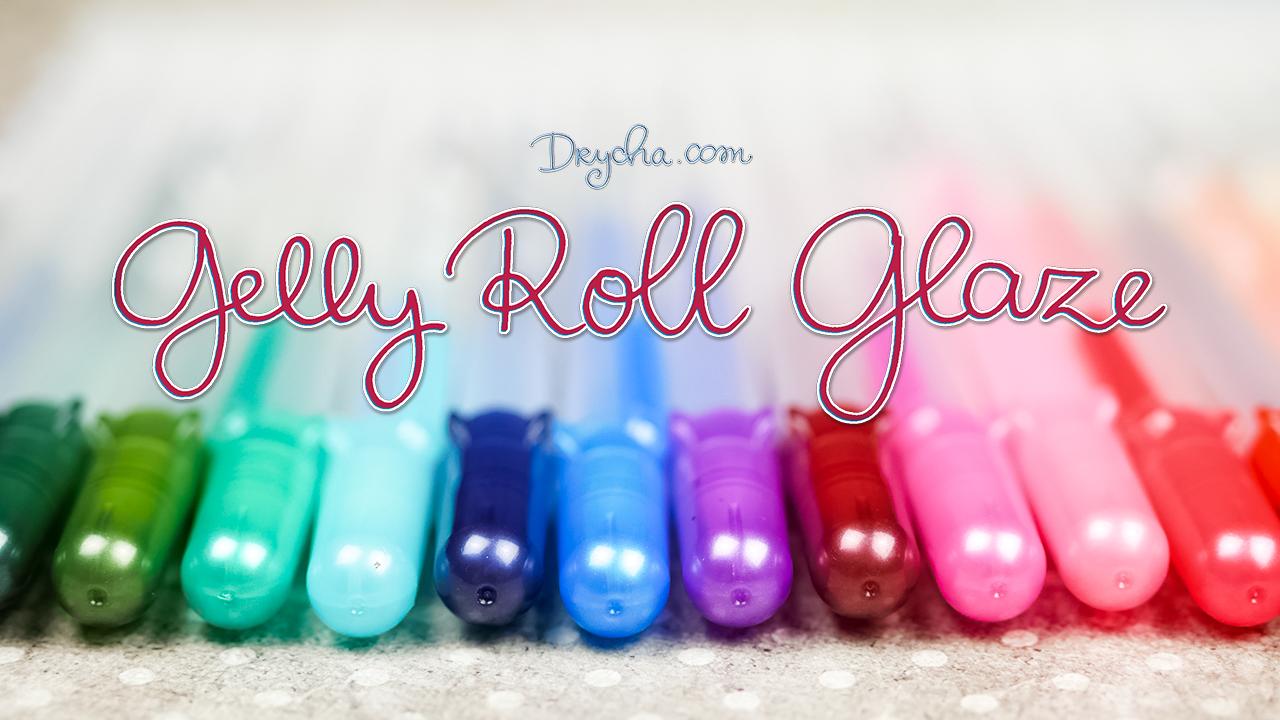 Gelly Roll Glaze - kolejne kosmiczne pisaki :)