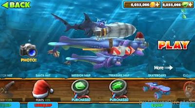 Hungry Shark Evolution Mod Apk game
