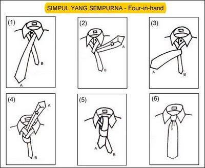 Cara Memasang Dasi Mudah