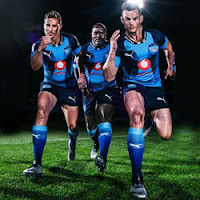 South Africa's Springbok Casino Celebrate's New Marvel Superhero Kits for Super Rugby.