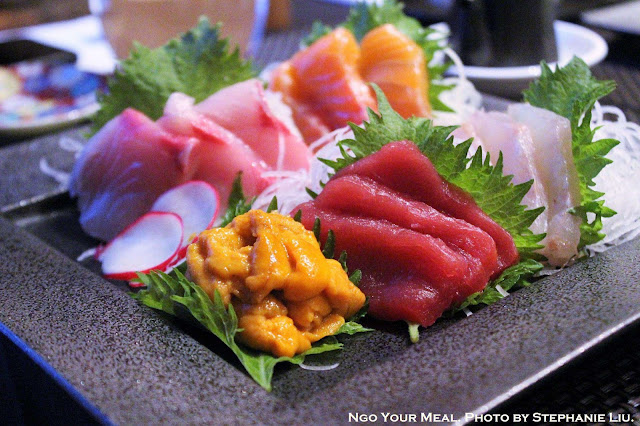 5 Kinds Sashimi Set at TEISUI in New York City