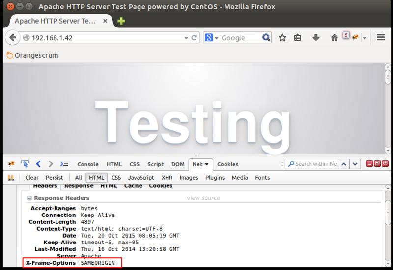 Một số phương pháp bảo mật Apache Web Server trên CentOS 7