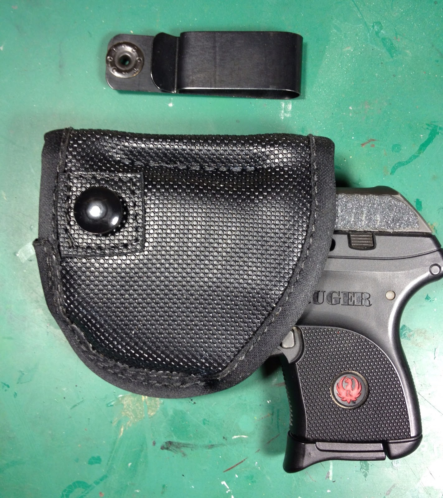 self defense carry: Remora Micro Clip holster and a laser