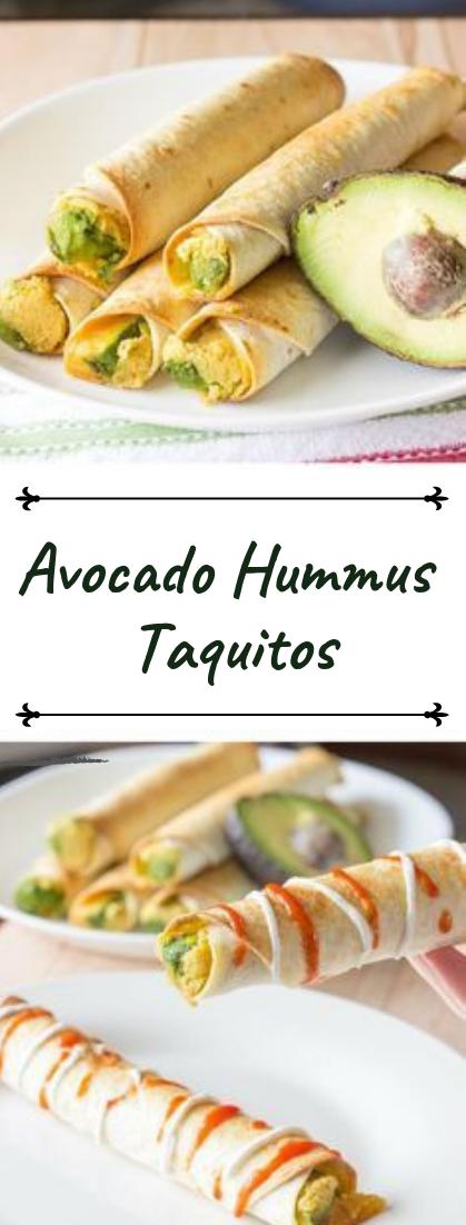 Avocado Hummus Taquitos #healthyfood #dietketo