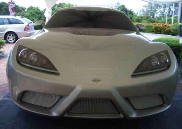 Rupa Supercar Pertama Buatan Malaysia