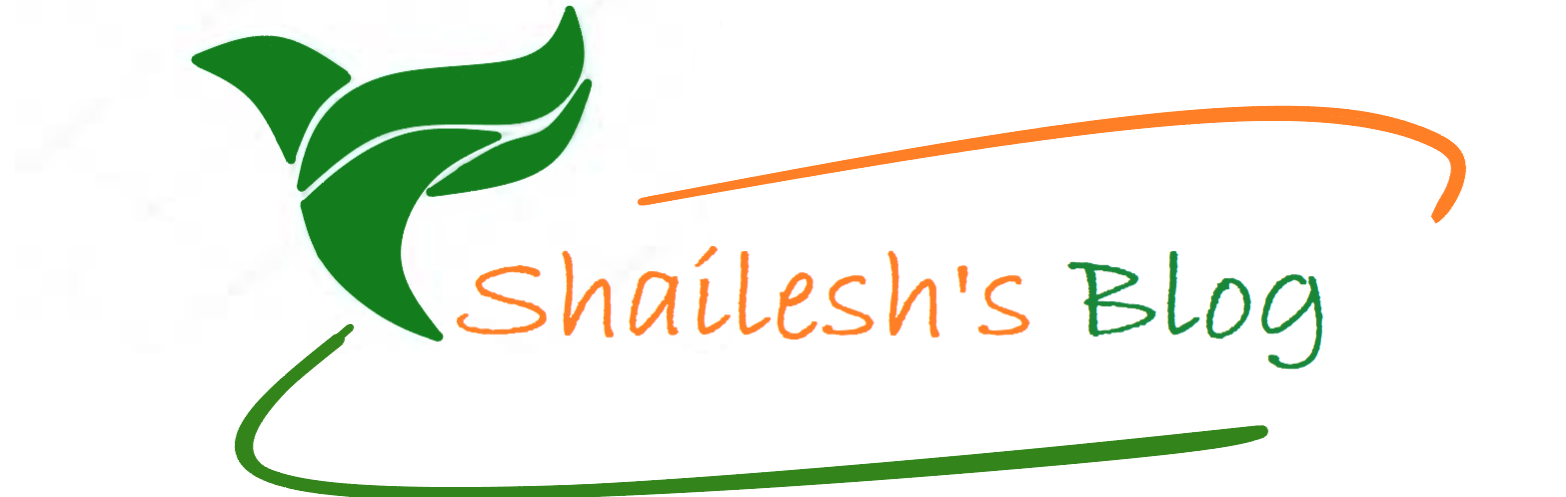 Shailesh's Blog