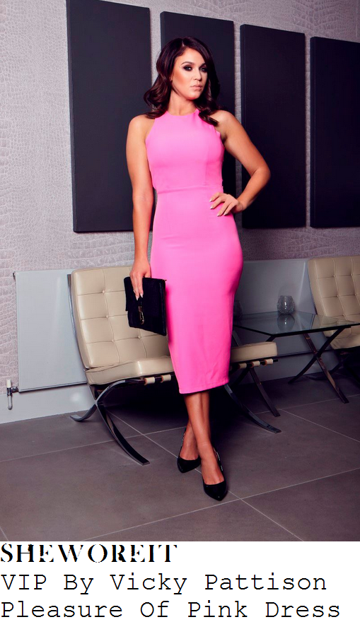 vicky-pattison-vip-by-vicky-pattison-pleasure-of-pink-bright-pink-midi-dress