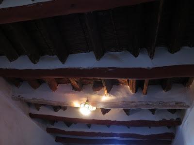 Techos del piso inferior de la kasbah Taourirt