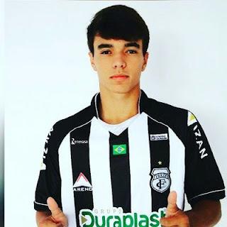 Sonho realizado, jovem de 19 anos atuará no Treze Futebol Clube