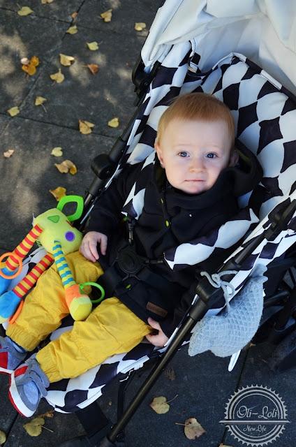 W co ubrać dziecko na jesienny spacer?