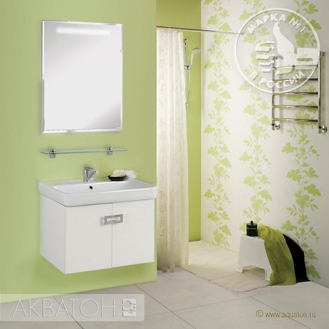 Мебель Акватон Оптима для ванной комнаты