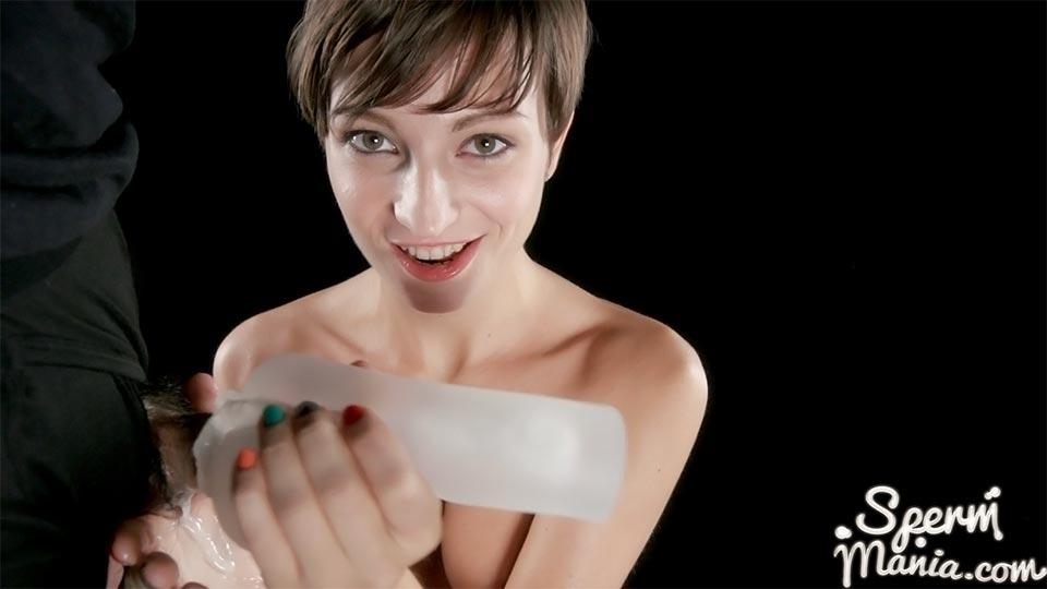 UNCENSORED Spermmania 123 Marie Gives A Cum Covered Handjob, AV uncensored