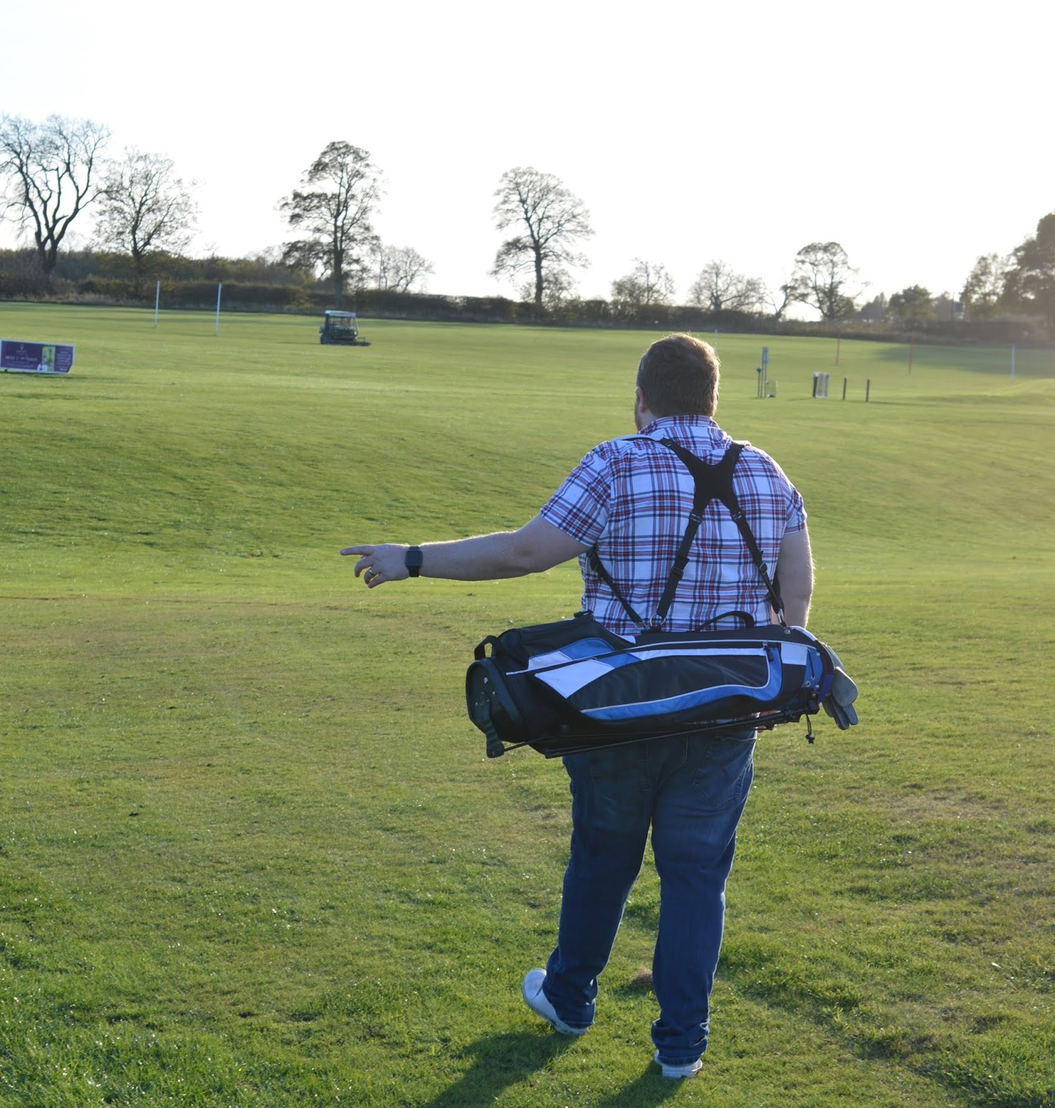10 Reasons to Stay at Matfen Hall in Northumberland with Kids  - family round of golf