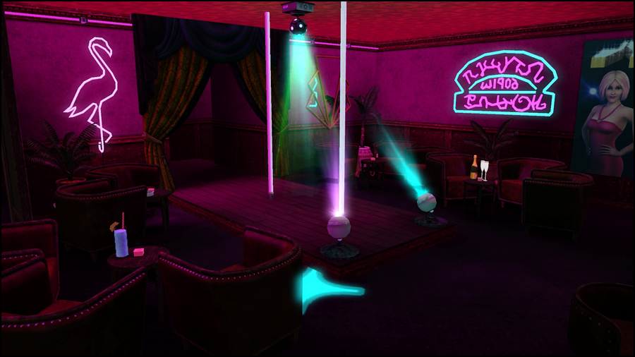 Consider, club flamingo strip fill blank
