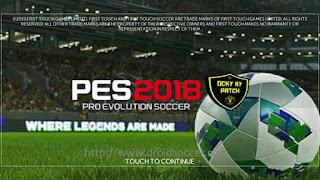 FTS Mod PES 2018 By Ocky Ry Apk + Data Obb