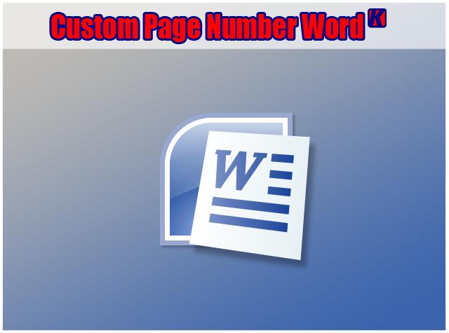 Cara Membuat Page Number Dengan Awal Nomor Tertentu Di Office Word 2010