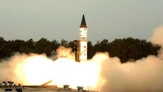 Agni-5 missile successfully test-fired