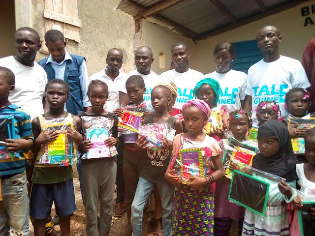 Guinée : Aide Humanitaire, une ONG au chevet des enfants des familles Démunies