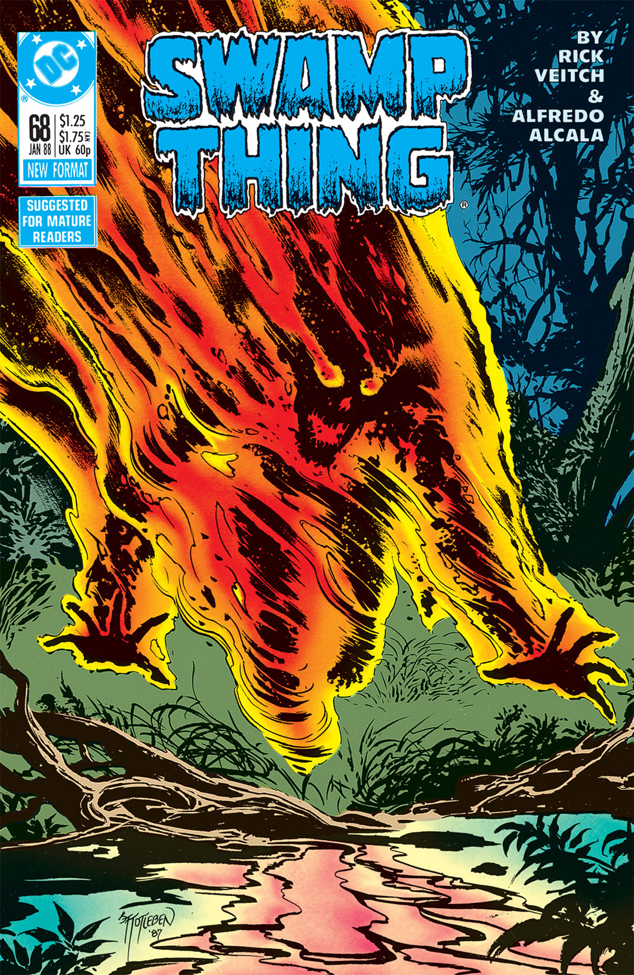 Swamp Thing (1982) Issue #68 #76 - English 1