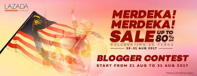 Merdeka! Merdeka! Sale, Big Sale, Shopping Online, Lazada Malaysia, Special Diskaun, Product, Pensonic, My Choice, Lucky Draw, Random,