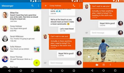 Google Messenger,Android