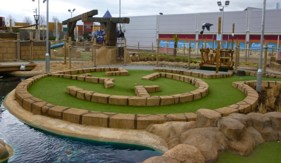 Pirate Island Adventure Golf in Castleford