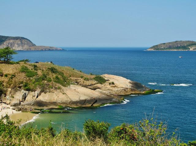 Praia do Sossego, em Niterói