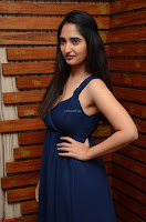 Radhika Mehrotra in a Deep neck Sleeveless Blue Dress at Mirchi Music Awards South 2017 ~  Exclusive Celebrities Galleries 050.jpg