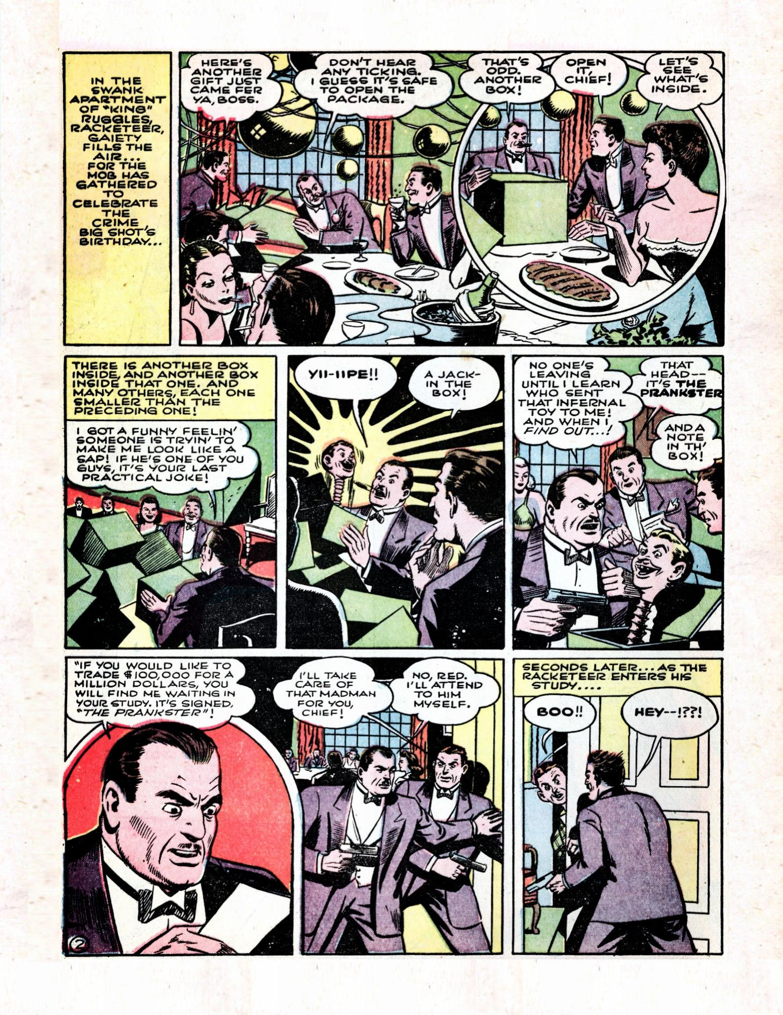 Read online Action Comics (1938) comic -  Issue #57 - 4
