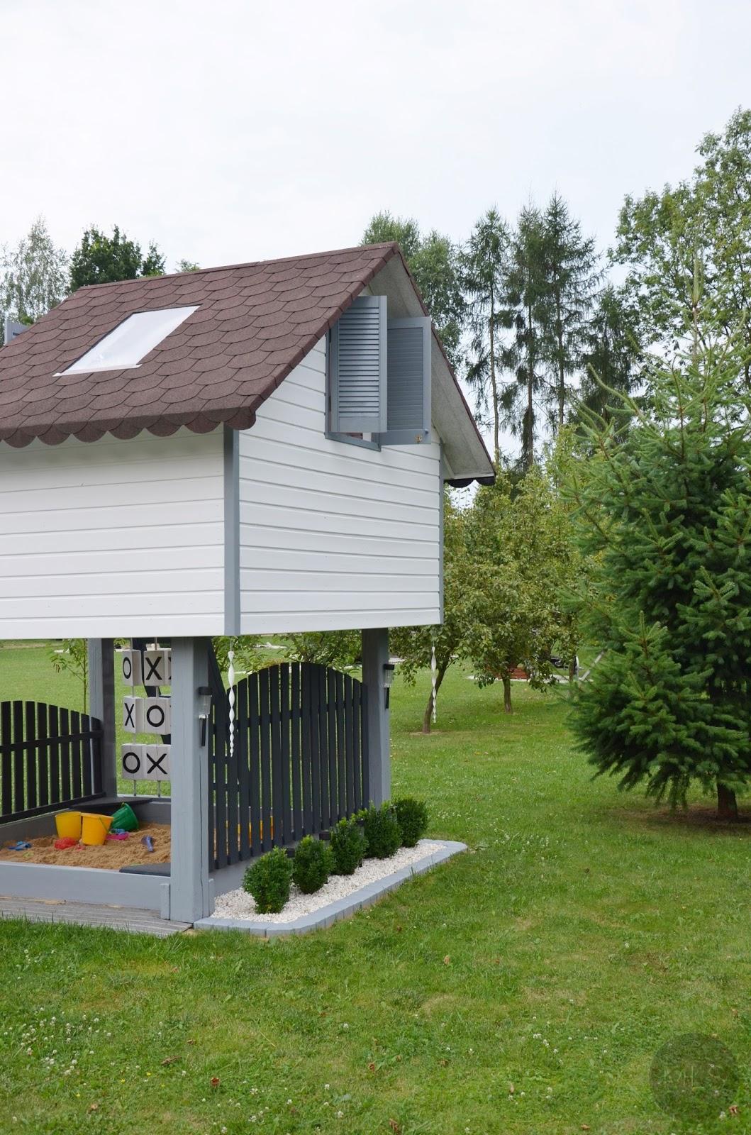 Domek drewniany dla dzieci #2
