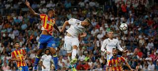 Real Madrid vs Valencia 2-2 Video Gol & Highlights