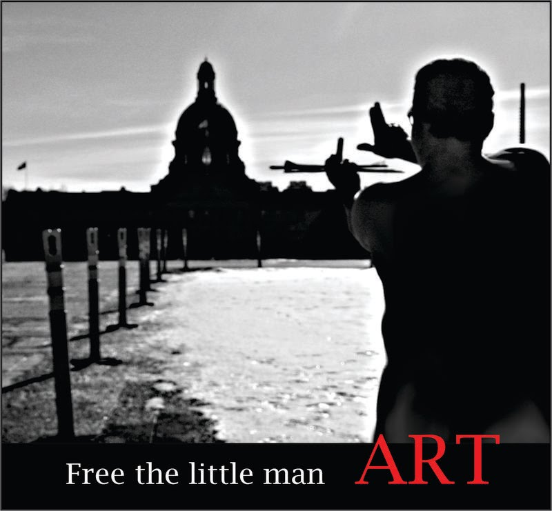 Free The Little Man - Art