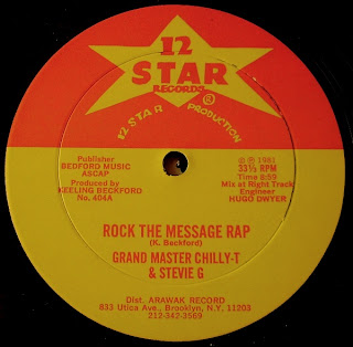 Grand Master Chilly T Stevie G 3 Keeling Beckford Connection Rock The Message Rap