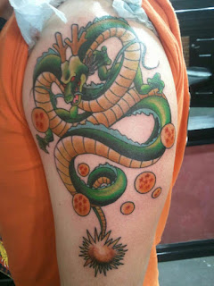 foto 8 de tattoos dragon ball