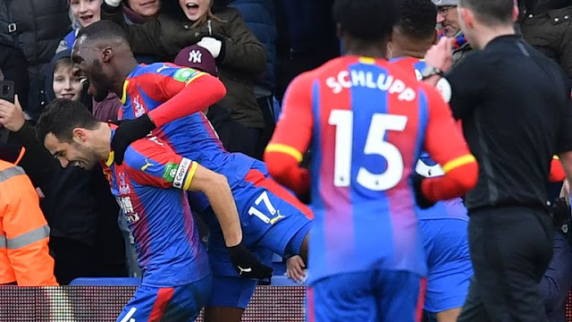 Crystal Palace Luka Milivojevic
