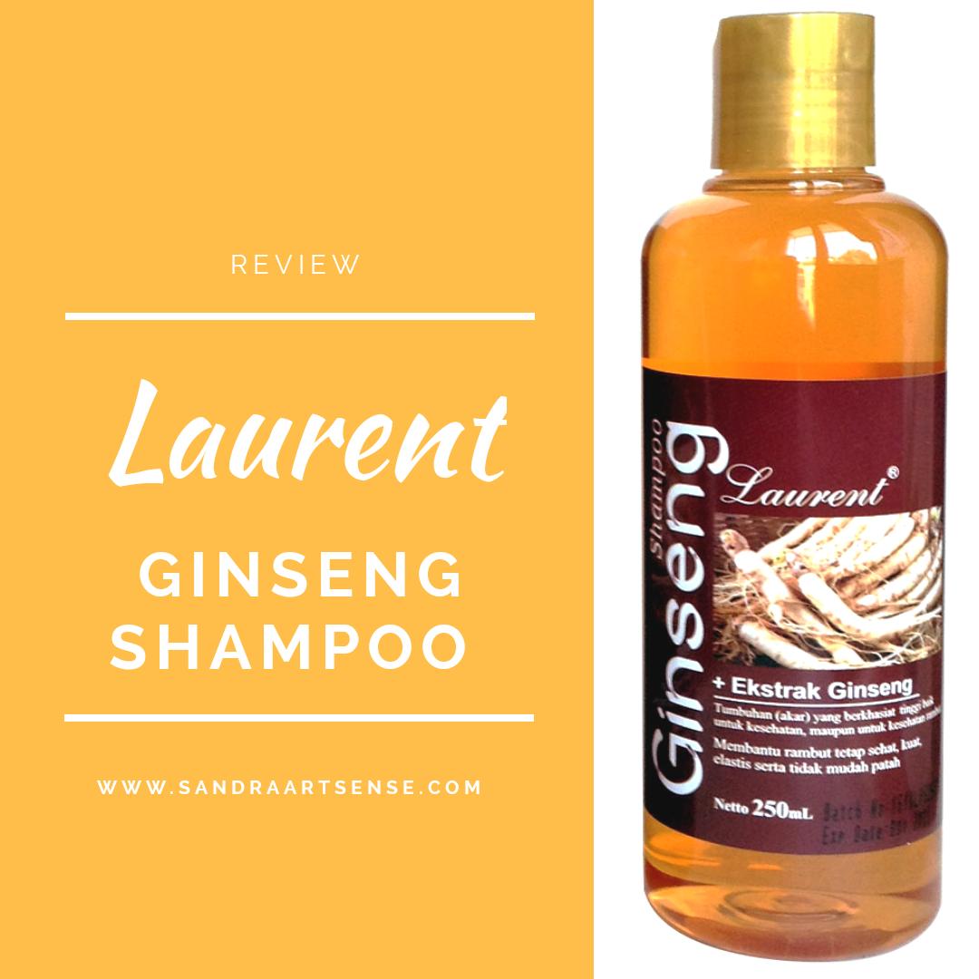 Sandraartsense.com   REVIEW  Laurent Ginseng Shampoo 8119a50fd5