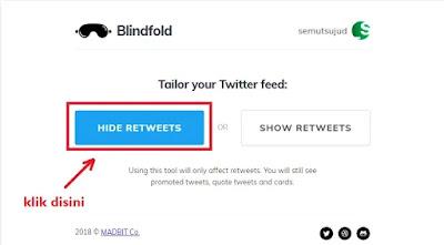 Cara Menyembunyikan Retweet di Twitter-1