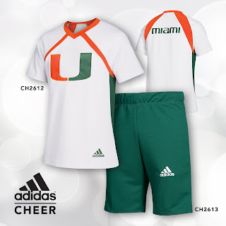 adidas cheer uniform style# 2612