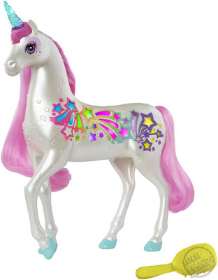 Toy Fair 2019 Mattel Barbie Dreamtopia Brush n' Sparkle Unicorn 15
