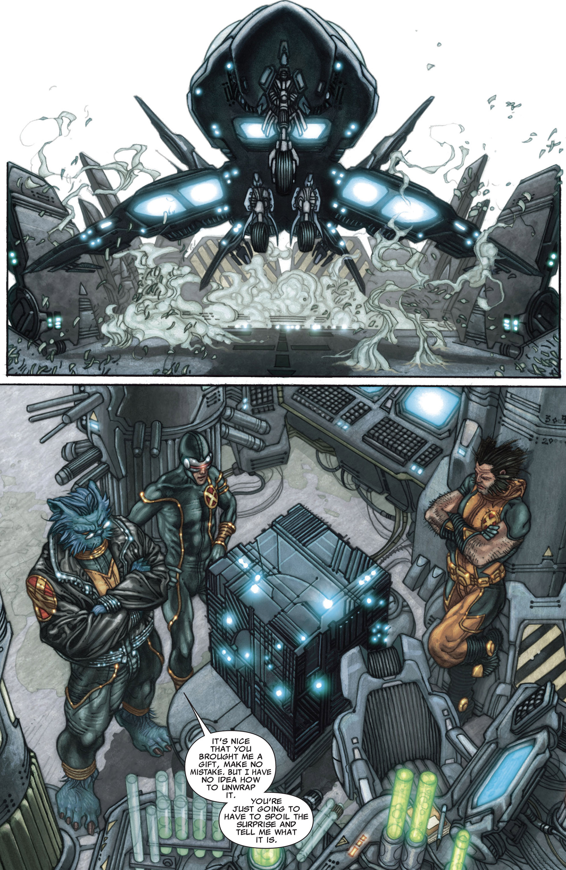 Read online Astonishing X-Men (2004) comic -  Issue #27 - 3