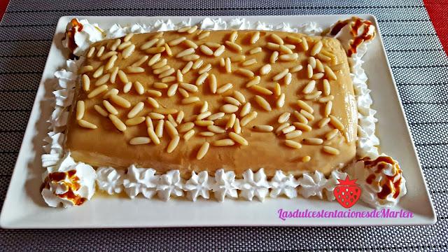Pastel-cuajada De Galletas Y Piñones
