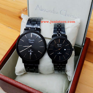 ALEXANDRE CHRISTIE COUPLE STAINLESS FULLBLACK
