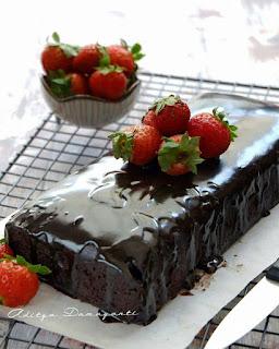 Ide Resep Membuat Simple Eggless Chocolate Cake