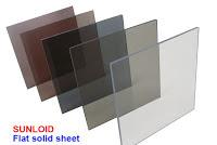 Harga Genteng Atap Polycarbonate Sunloid Flat Solid Sheet di Malang
