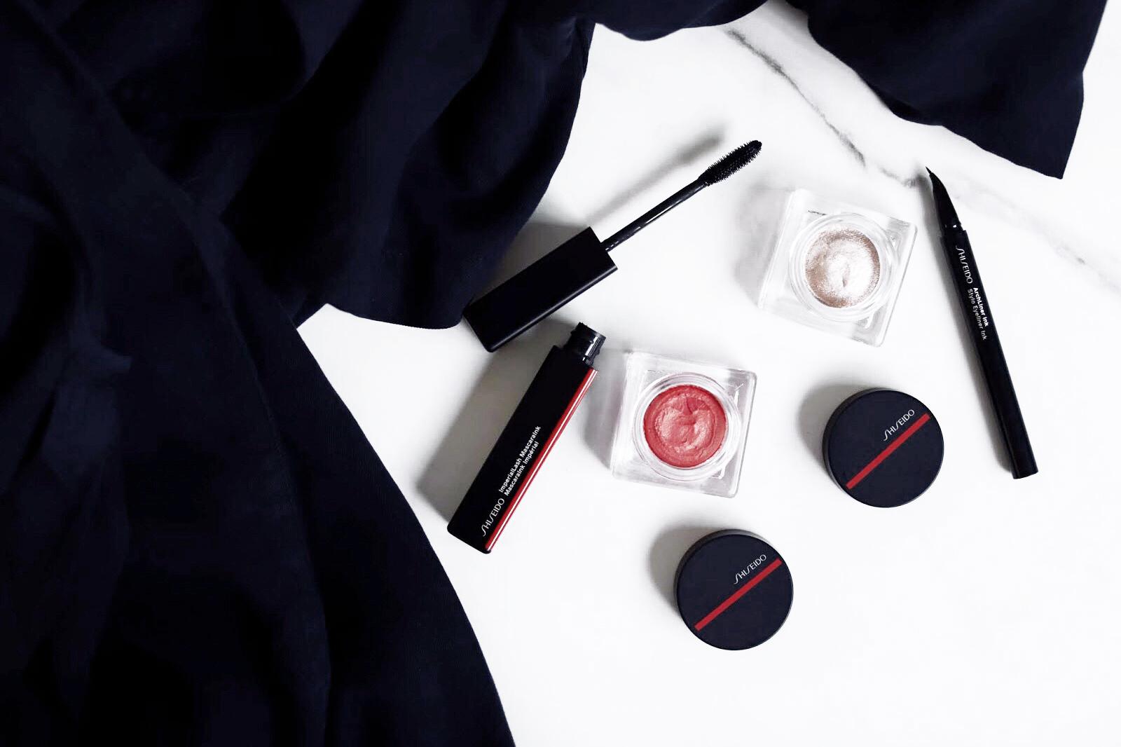 nouveau maqullage shiseido avis test swatch aura dew solar 02 sonoya 01 blush soufflée mascara Imperial Lash Ink eyelinerarchLiner Ink kajal Ink Artist